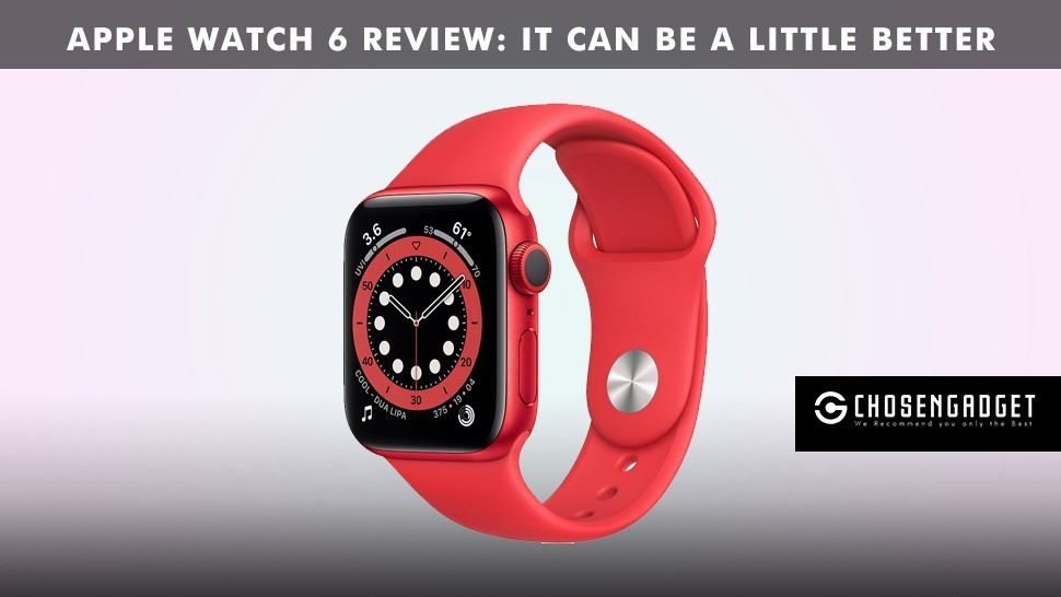 You are currently viewing Apple Watch 6 review