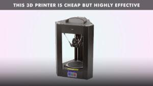 Read more about the article Monoprice Delta Mini V2 3D printer review
